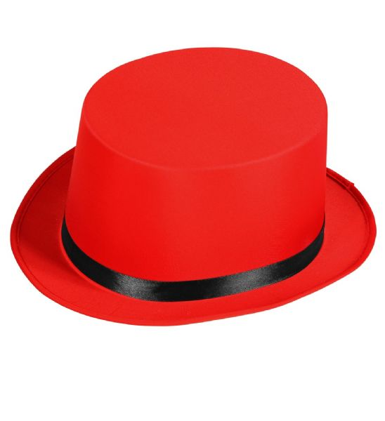Adults Unisex Ringmaster Top Hat Circus Fancy Dress Hat